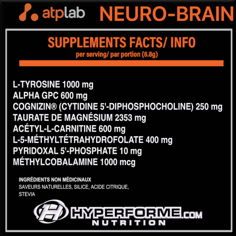 ATP Neuro Brain Factor 137g - Orange nutri