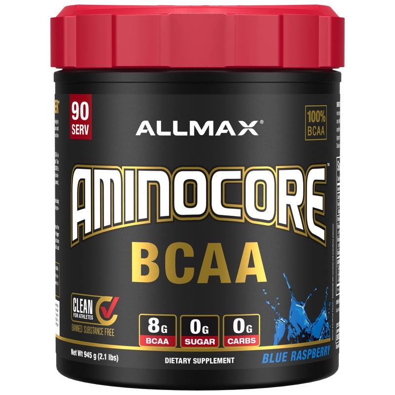 Allmax Aminocore - 90 Servings Blue Raspberry