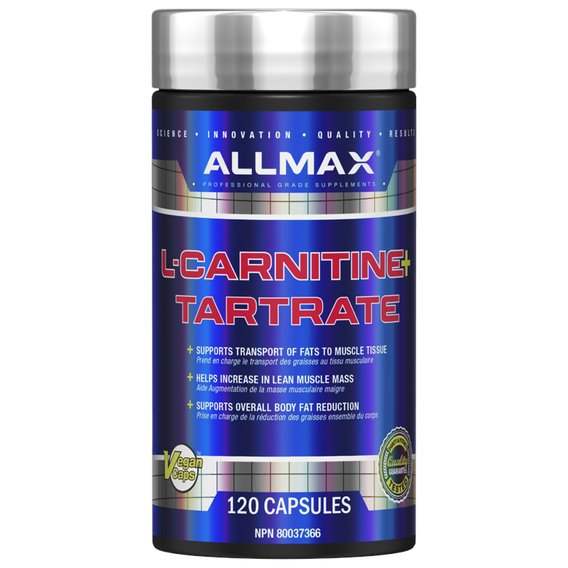 Allmax L-Carnitine Tartrate 120 cap (2465796128845)