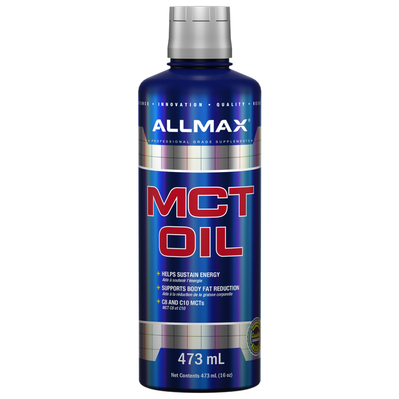 Allmax MCT Oil - 473ml (3587342139469)