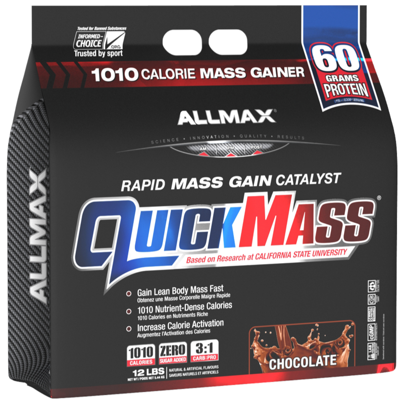 Allmax Quickmass chocolate  12 lb (2465832632397)