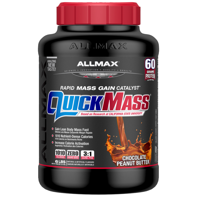 Allmax Quickmass chocolate peanut butter 6lbs
