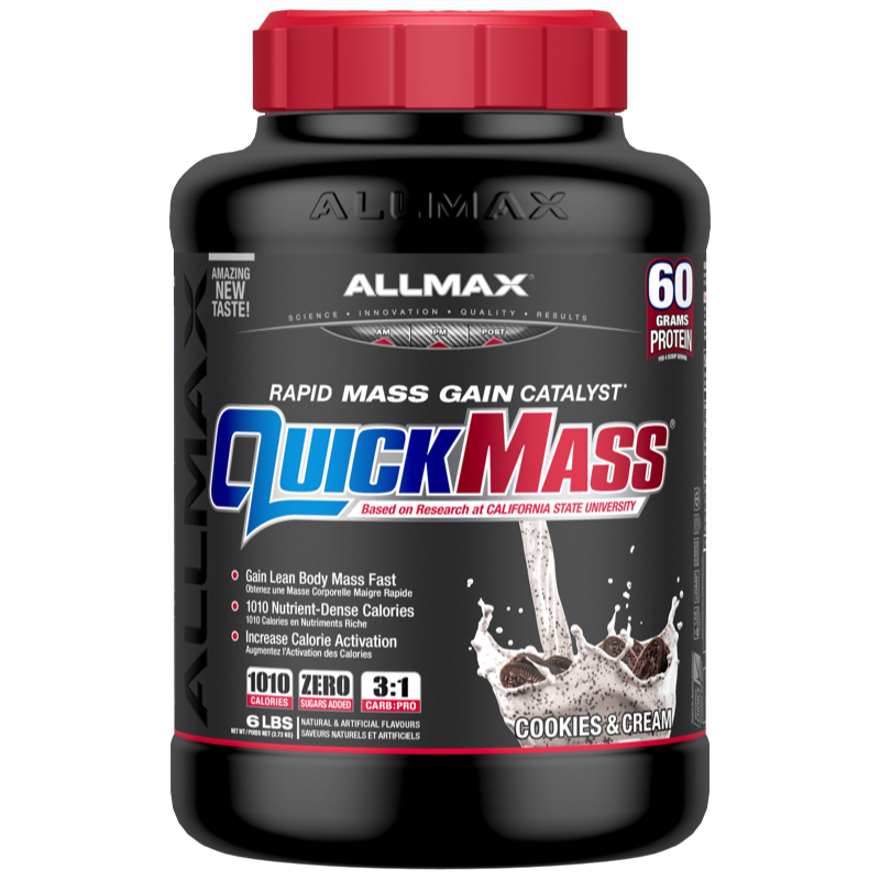 Allmax Quickmass cookies cream 6lbs