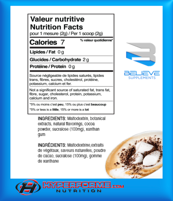 BELIEVE PROTEIN FLAVOR PACK  MARSHMALLOW MOCACCINO (2465860321357)