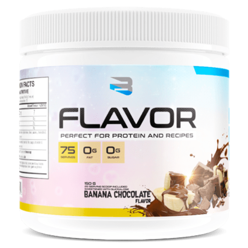 BELIEVE PROTEIN FLAVOR PACK banana chocolate (2465860321357)