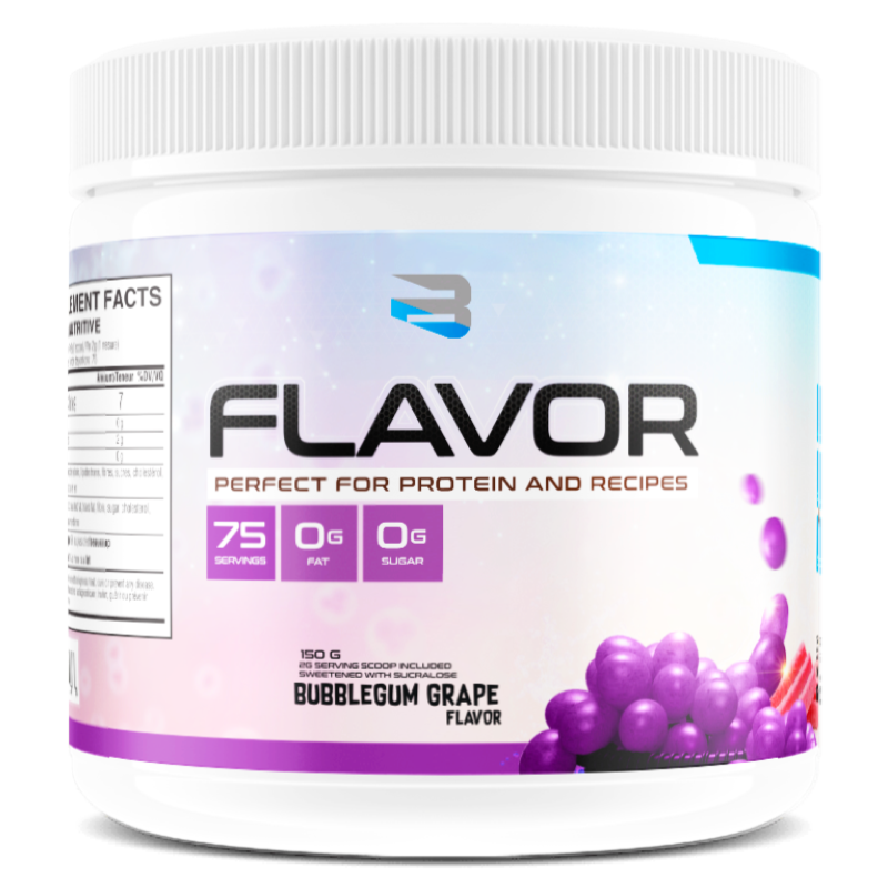 BELIEVE PROTEIN FLAVOR PACK Bubblegum grape (2465860321357)