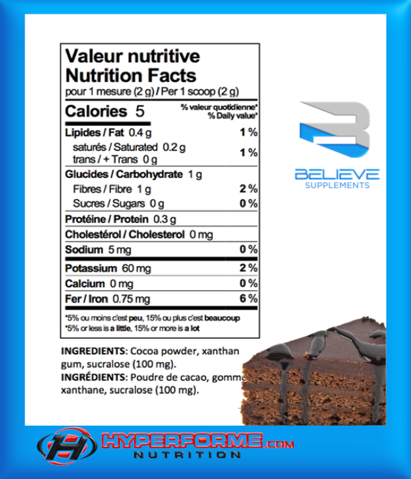 Believe Protein Flavor Pack - 75 Servings (2465860321357)