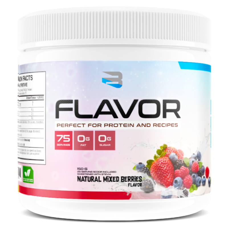 BELIEVE PROTEIN FLAVOR PACK natural mixed berries (2465860321357)