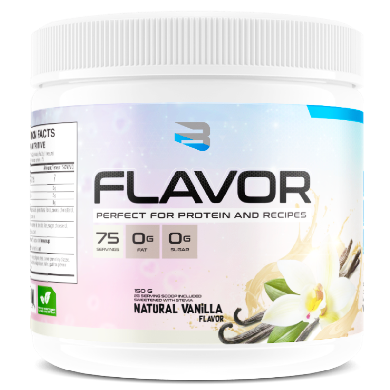 BELIEVE PROTEIN FLAVOR PACK natural vanilla (2465860321357)