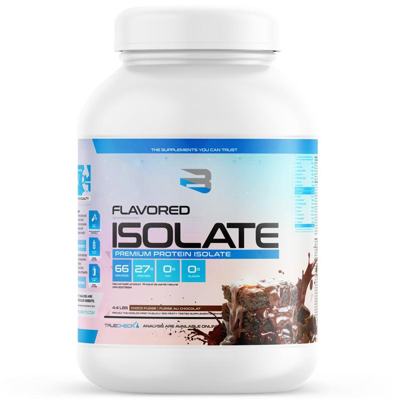 Believe Flavored Isolate - 4.4lb Chocolate Fudge