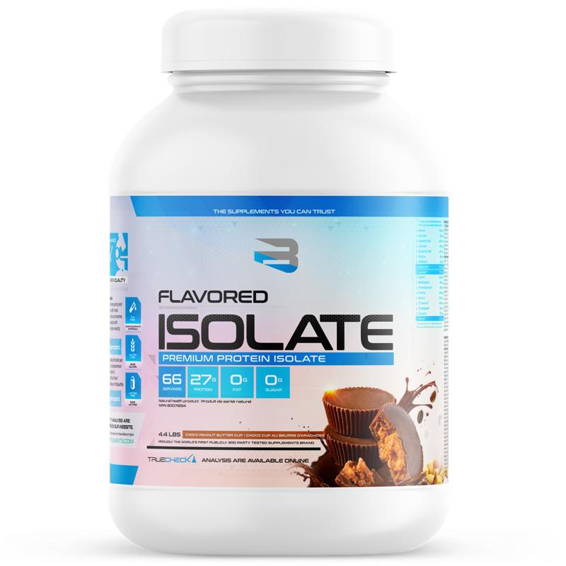 Believe Flavored Isolate - 4.4lb Choco Peanut Butter Cup