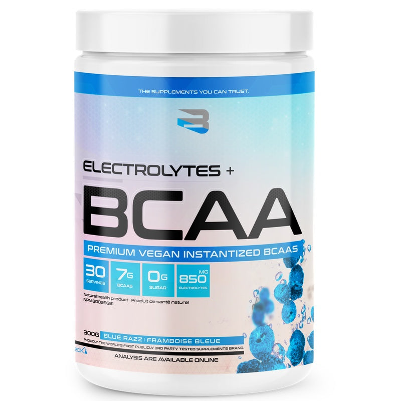 Believe BCAA + Electrolytes - 30 Servings Blue Raspberry