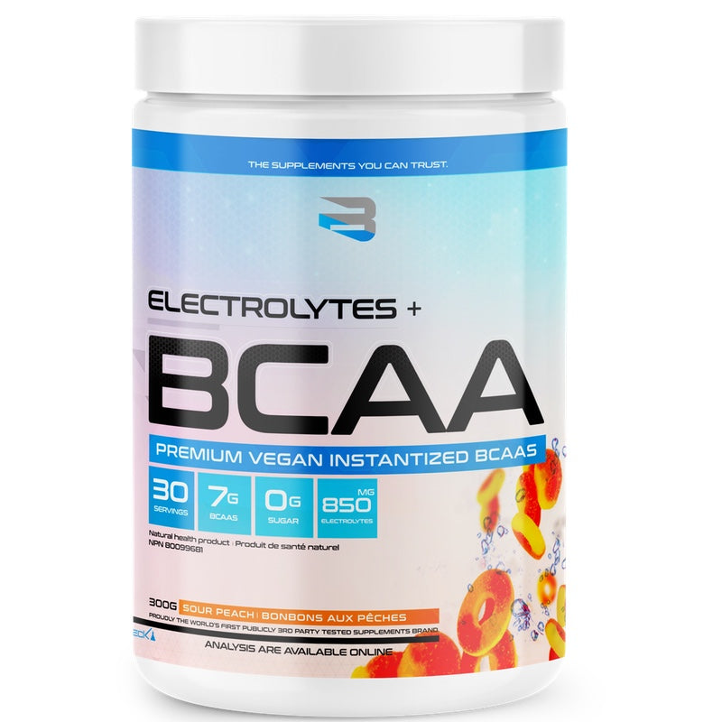 Believe BCAA + Electrolytes - 30 Servings Peach