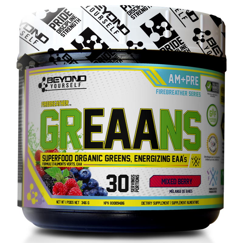 Beyond Yourself GrEEAns (Greens + EAAs) - 30 Servings