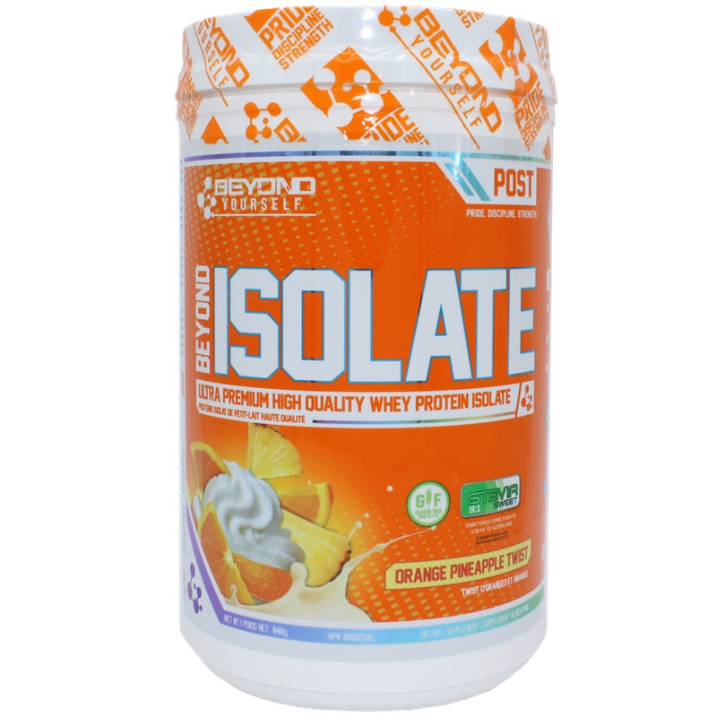 Beyond Yourself Isolate Protein - 840g Orange Pineapple