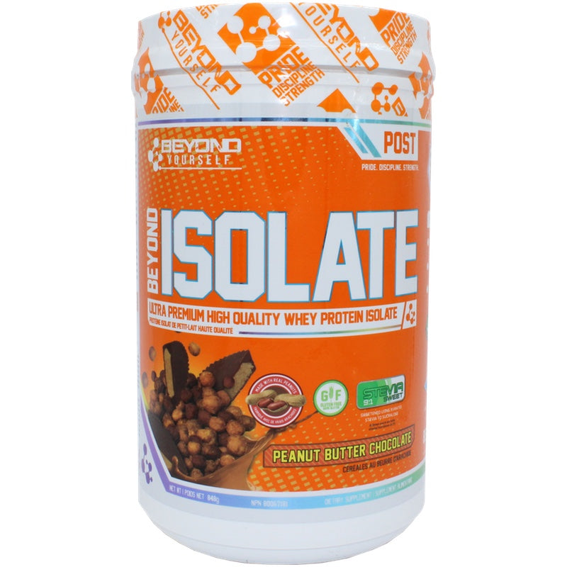 Beyond Yourself Isolate Protein - 840g Peanut Butter Chococlate