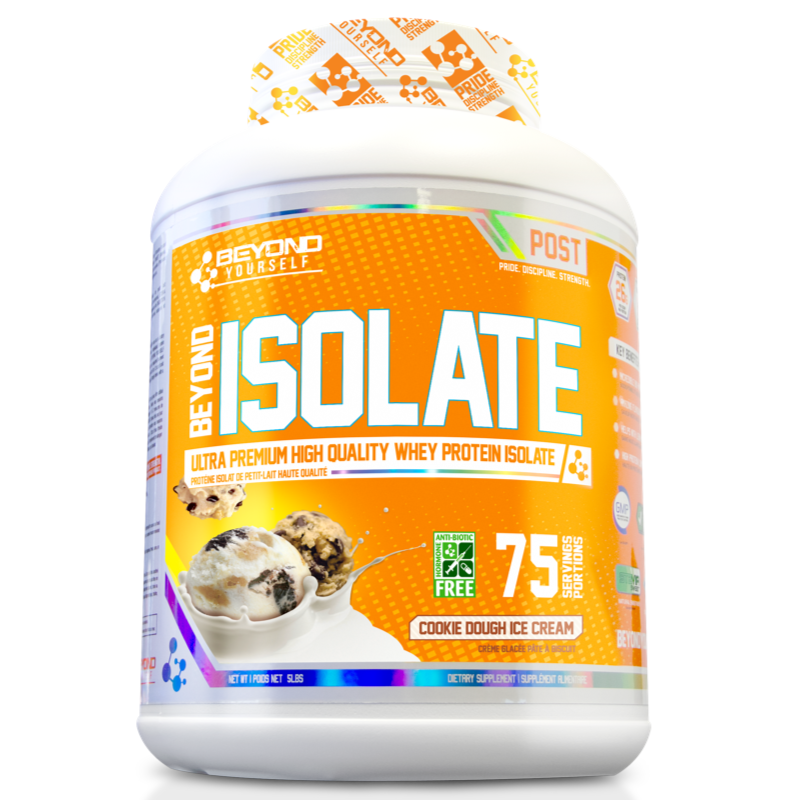 Beyond Yourself Isolate Protein  COOKIE DOUGH ICE CREAM- 5lb (2465803337805)
