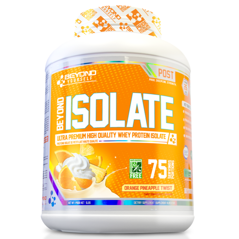 Beyond Yourself Isolate Protein ORANGE PINEAPPLE TWIST -5lb (2465803337805)