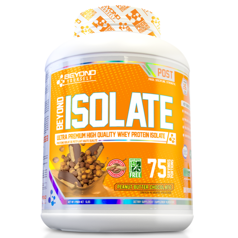 Beyond Yourself Isolate Protein  PEANUT BUTTER CHOCOLATE- 5lb (2465803337805)