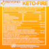 Beyond Yourself KETO FIRE NUTRITION FACTS