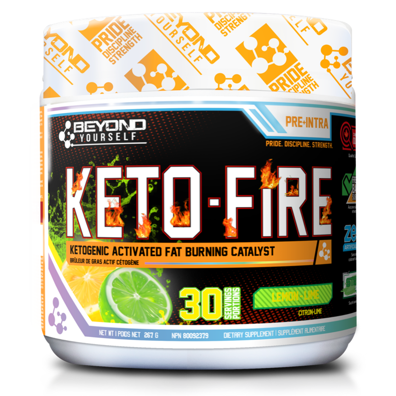 Beyond Yourself Keto Fire - 30 Servings Lemon Lime (3784707899469)