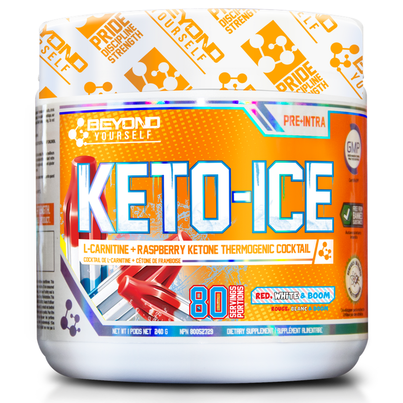 Beyond Yourself Keto Ice Red White Boom - 80 Servings (2465802059853)
