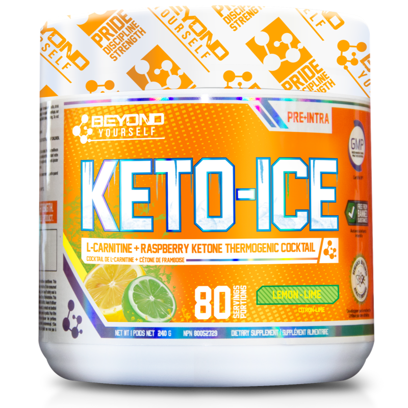 Beyond Yourself Keto Ice lemon lime- 80 Servings