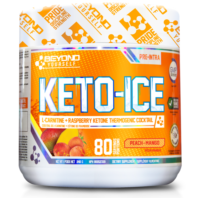 Beyond Yourself Keto Ice peach mango- 80 Servings (2465802059853)