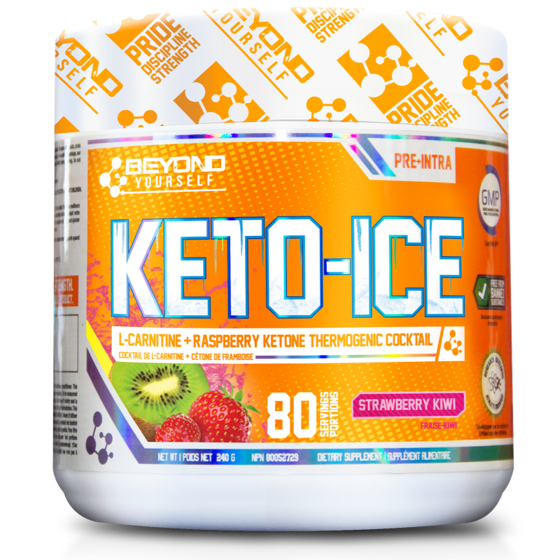 Beyond Yourself Keto Ice strawberry kiwi- 80 Servings