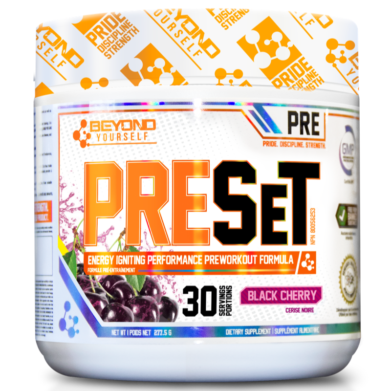Beyond Yourself Preset BLACK CHERRY- 30 servings (2465802453069)