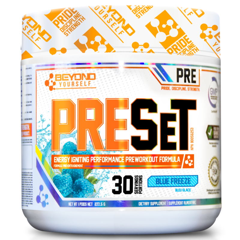 Beyond Yourself Preset BLUE FREEZE- 30 servings (2465802453069)