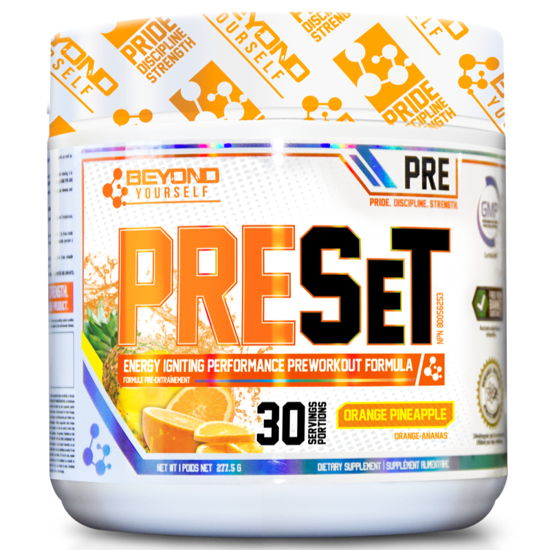 Beyond Yourself Preset ORANGE PINEAPPLE- 30 servings (2465802453069)
