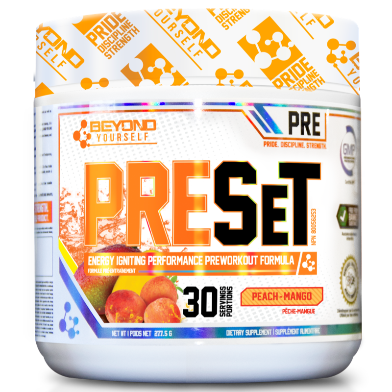 Beyond Yourself Preset PEACH MANGO- 30 servings (2465802453069)