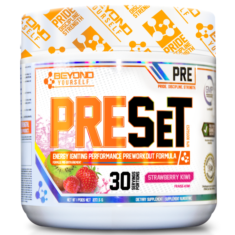 Beyond Yourself Preset STRAWBERRY KIWI- 30 servings (2465802453069)