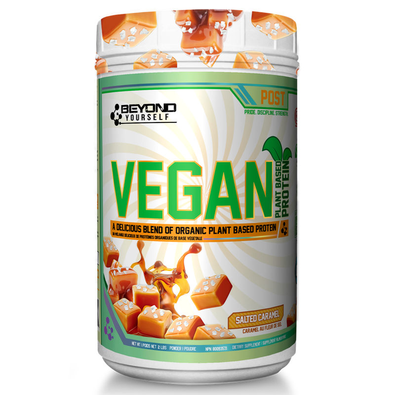 Beyond Yourself Vegan Protein - 2lb Salted Caramel (4328394915917)