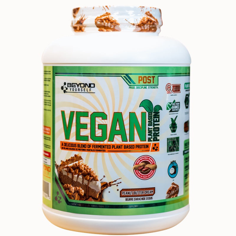 Beyond Yourself Vegan Protein - 4lb Peanut Butter Cream