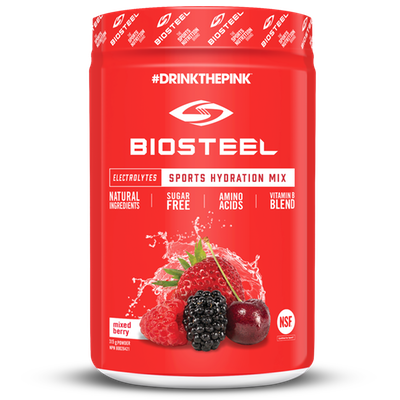 Biosteel Sports Hydration Mix - 315g Mixed Berry (2465885945933)