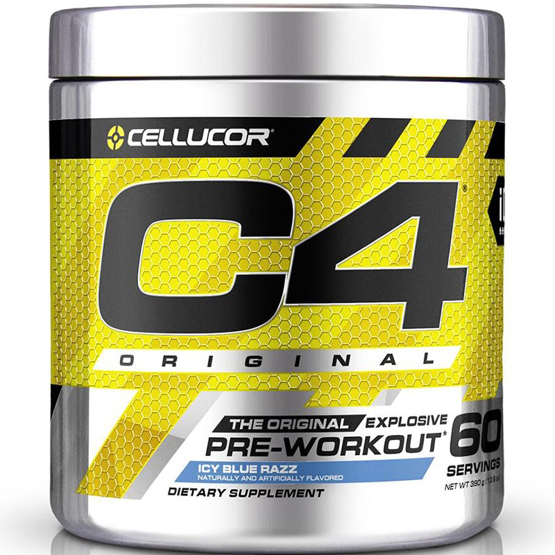 Cellucor C4 Original -  60 servings Icy Blue Raz (2465819328589)