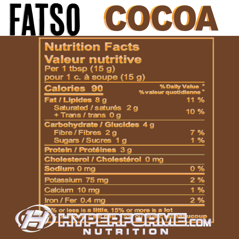Fatso Hybrid Peanut Butter COCOA NUTRITION FACTS (2465854226509)