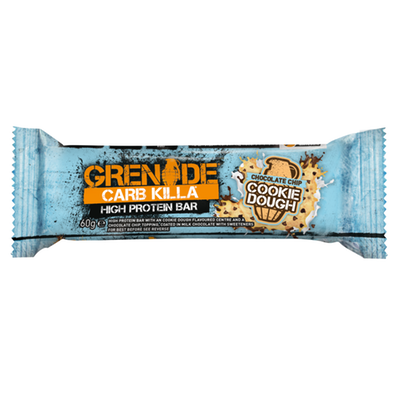 Grenade Carb Killa Bar - 1 Bar Chocolate Chip Cookie Dough (2465883619405)