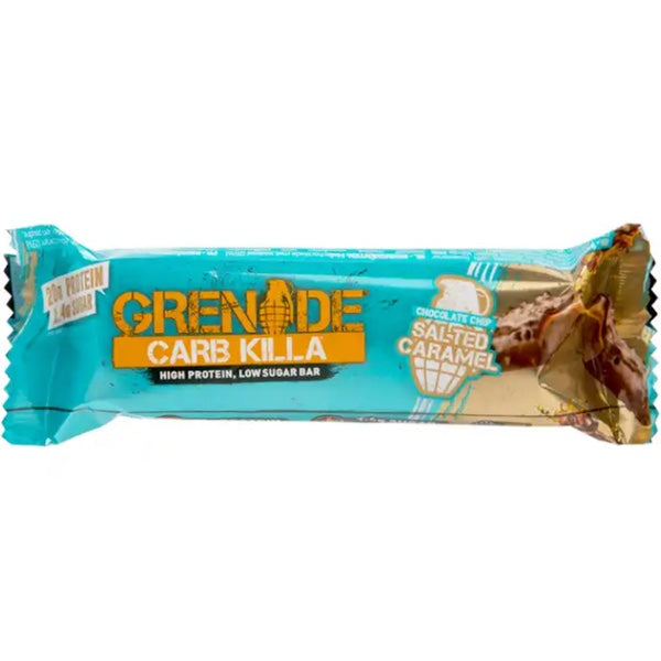 Grenade Carb Killa Bar - 1 Bar Chocolate Chip Salted Caramel