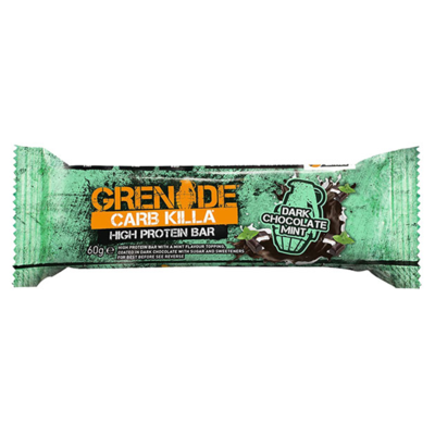 Grenade Carb Killa Bar - 1 Bar Dark Chocolate Mint (2465883619405)