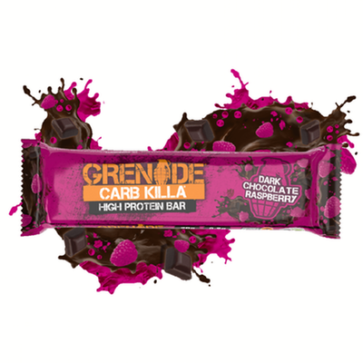 Grenade Carb Killa Bar - 1 Bar Dark Chocolate Raspberry (2465883619405)