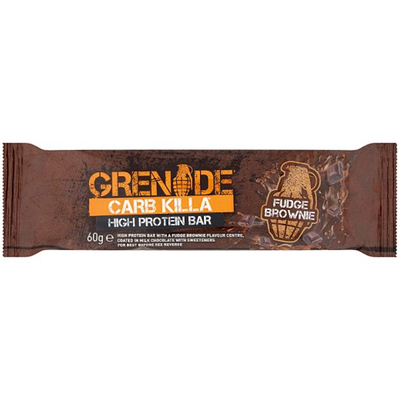Grenade Carb Killa Bar - 1 Bar Fudge Brownie (2465883619405)