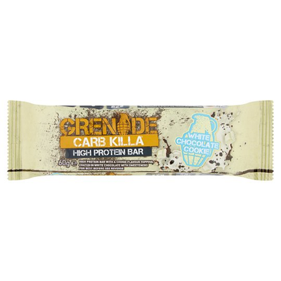 Grenade Carb Killa Bar - 1 Bar White Chocolate Cooke (2465883619405)