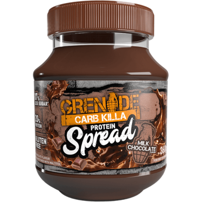 Grenade Carb Killa Protein Spread - 360g Milk Chocolate (2465870970957)