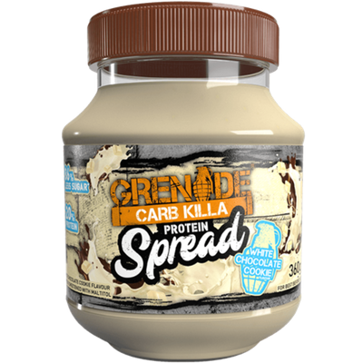 Grenade Carb Killa Protein Spread - 360g White chocolate Cookie (2465870970957)