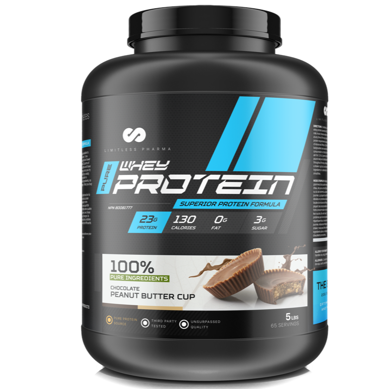 Limitless Pharma Advanced Whey Protein - Chocolate Peanut Butter Cup 5lb (2465879752781)