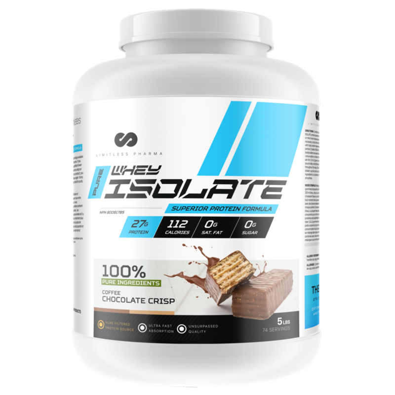 Limitless Pharma Whey Isolate - 5lb (2465877688397)