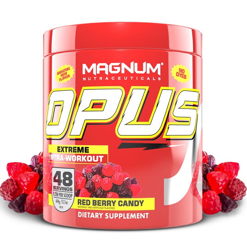 Magnum Opus - 48 servings Red Berry Candy (2465900888141)
